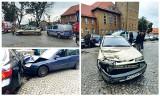 Szczytno. 25-latek rozbił sześć samochodów na Placu Juranda. Nic nie pamięta! (zdjęcia)