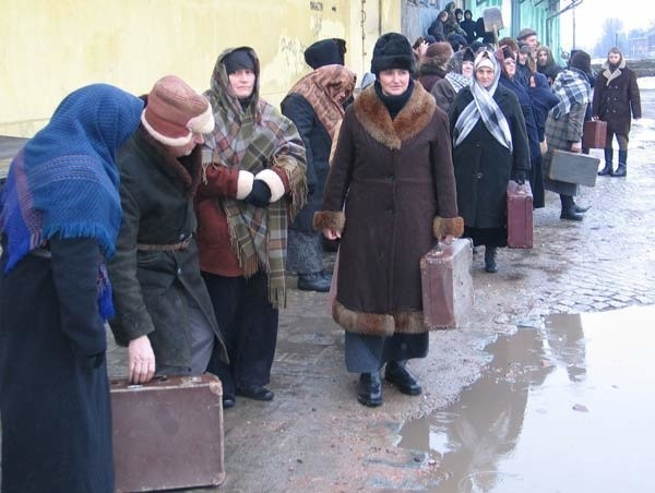 Wywózki na Sybir. Rekonstrukcja historyczna w Przemyślu