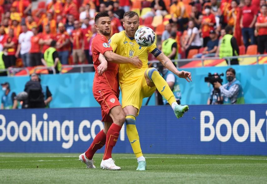 Euro 2020. Ukraina wygrała z Macedonią Północną. Dwa karne zmarnowane, sędziował Argentyńczyk