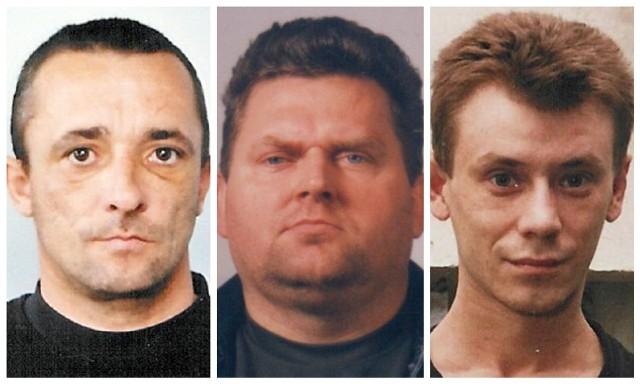 Ci mężczyźni ścigani są przez policję z art. 197 Kodeksu Karnego, czyli zgwałcenie. Mogą być niebezpieczni. Jeśli wiesz, gdzie się znajdują, powiadom policję.