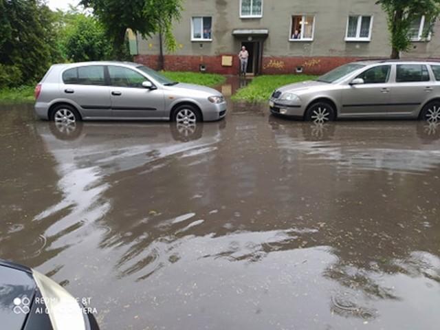 Ulica Mieszka I w Inowrocławiu