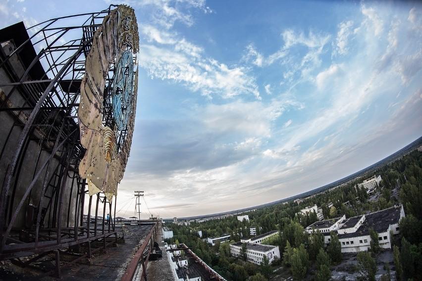 Elektrownia w Czarnobylu tak teraz wygląda teren, na którym...