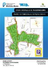 Parkowanie w Bielsku-Białej nielegalne i po nowemu [MAPA]
