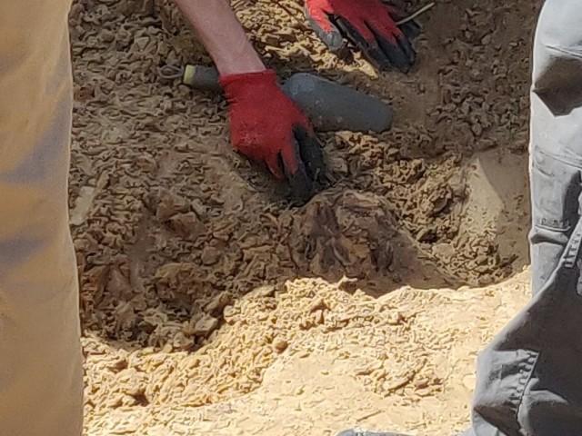 W Olszynce były dwa groby.