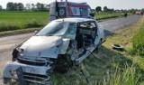 Wypadek w Rozmierce pod Strzelcami Opolskimi. 41-latek trafił do szpitala