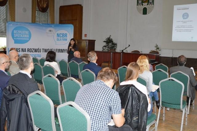 W czwartek, 25 października, odbyło się w Centrum Biznesu w Zielonej Górze spotkanie dla przedsiębiorców.