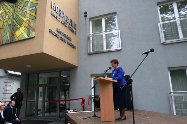 Stacjonarne hospicjum przy ul. Zdrojowej jest pierwszym i jak na razie jedynym takim w mieście