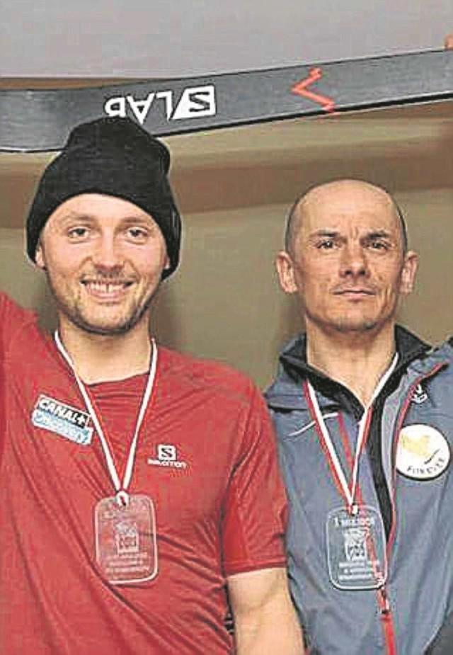 Andrzej Bargiel i Tomasz Brzeski