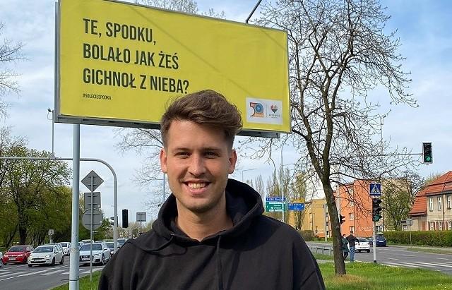 Roobens z Bytomia autorem billboardów po śląsku na 50-lecie katowickiego Spodka. Pojawiły się one w kilku miastach w regionie