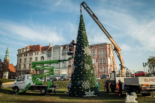 6 grudnia o choince na placu Teatralnym w Bydgoszczy może być głośno na cały kraj, jeśli przyjdzie rekordowo dużo smakoszy czekoladowych Mikołajów!
