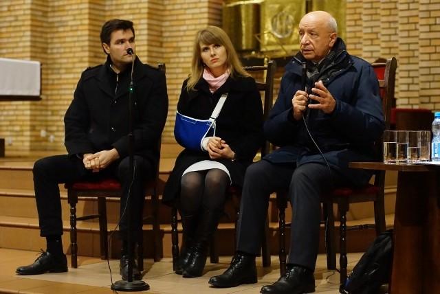 Profesor Chazan gościł w kościele na Piątkowie