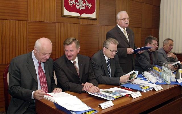 Wizyta ministrów miała pomóc m.in. przyspieszyć budowę Galerii Kaskada w centrum Szczecina.