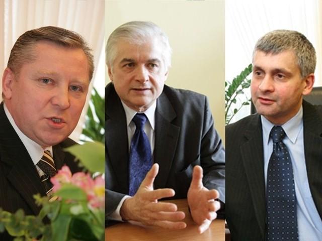 Jan Dobrzyński, Włodzimierz Cimoszewicz, Bohdan Paszkowski