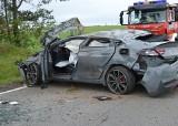 Wypadek na DK 20 koło Wygody. 30-latka straciła prawo jazdy, jedna osoba ranna (SZCZEGÓŁY)