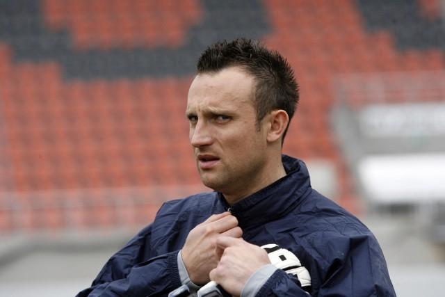 Były zawodnik Zagłębia Lubin Aleksander Ptak został bramkarzem Miedzi Legnica