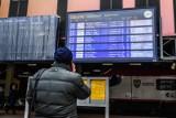 Zima atakuje. Duże opóźnienia pociągów na stacji Poznań Główny