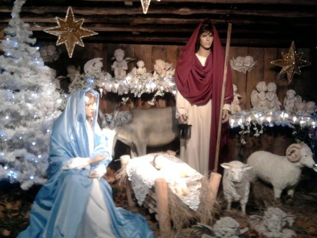 Na mnie jak co roku zrobiła wrażenie Szopka Bożonarodzeniowa na Jasnej Górze w Częstochowie.Jadwiga