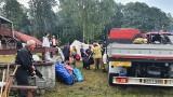 Burza zwaliła drzewa na obóz harcerzy z Łodzi. Wypoczynek zakończą przed czasem ZDJĘCIA