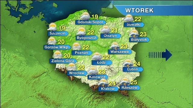 Dzisiaj nie powinno padać, a termometry w Szczecinie będą pokazywać 19 stopni Celsjusza