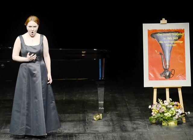 W konkursie wystąpiła absolwentka sądeckiej Państwowej Szkoły Muzycznej im. Fryderyka Chopina Klaudia Ziajkowicz (sopran)