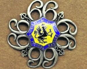Odznaka 66 Kaszubskiego Pułku Piechoty