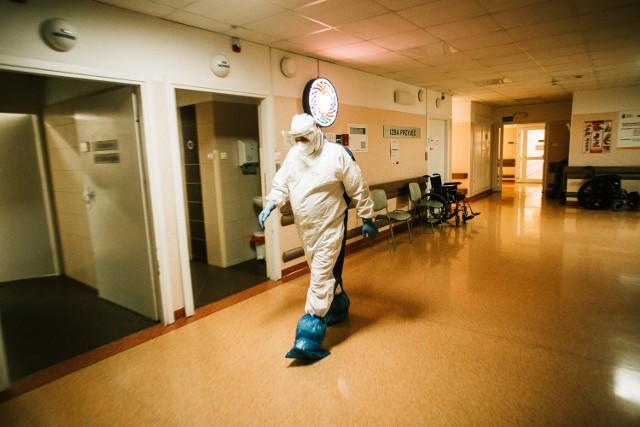 Decyzją ministra zdrowia tymczasowy oddział COVID-19 w Szpitalu Powiatowym w Więcborku został zamknięty