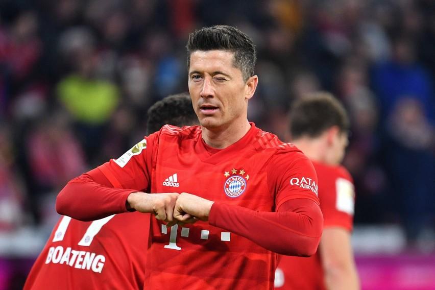 10. Robert Lewandowski (Bayern Monachium) - 1,6 mln euro...