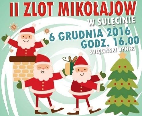 II zlot Mikołajów w Sulęcinie