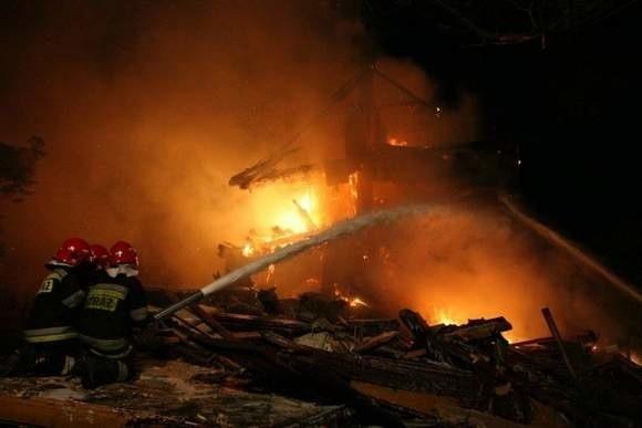 W miejscowości Hornowo w gminie Dziadkowice wybuchł pożar, w którym zginął 36-latek