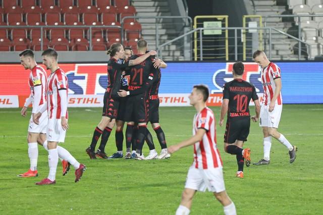 Tak Jagiellończycy cieszyli się w Krakowie z najpiękniejszego gola sezonu 2020/21