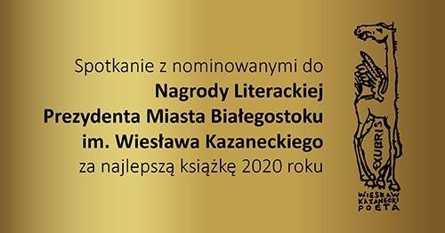 Do nagrody nominowano ośmiu autorów w kategoriach najlepsza książka i najlepszy ogólnopolski poetycki debiut roku. Laureatów poznamy już w maju.