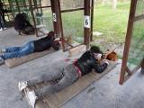 Charytatywna akcja na strzelnicy miejskiej w Jędrzejowie. Strzelano dla Ani i Mateusza (ZDJĘCIA)