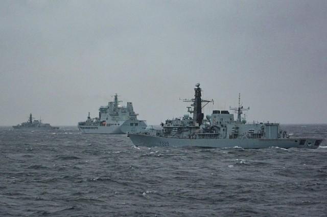 Ćwiczenia zespołu NATO na Bałtyku w marcu tego roku. Rosjanie w odpowiedzi na obecność Sojuszu na tym morzu wzmacniają Twierdzę Kaliningrad.