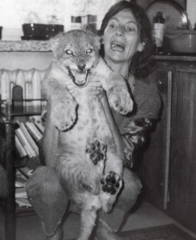 Jadwiga Stoczkowska, była dyrektor zoo z lwem Leonem