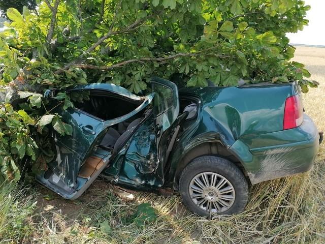 Wypadek na trasie Szczuczyn - Bzury