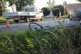 Dramatyczny wypadek. Nie żyje 29-letni rowerzysta. Wjechał do rowu