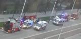 Wypadek na ul. Grabiszyńskiej we Wrocławiu. Jedna osoba nie żyje