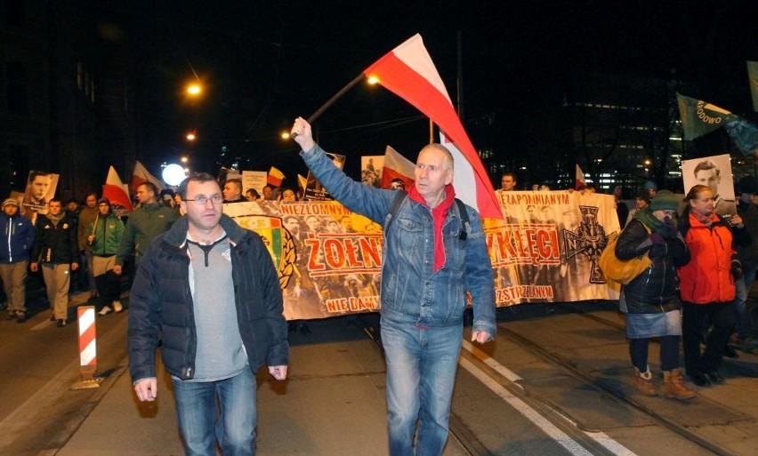 Marsz ku czci Żołnierzy Wyklętych [ZDJĘCIA]
