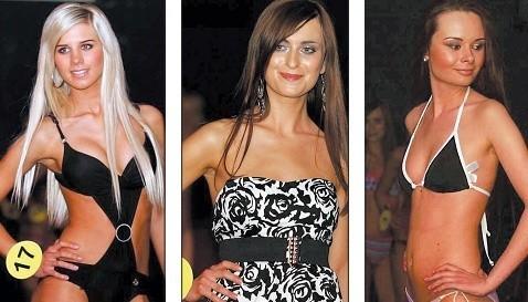 Od lewej: Sandra Kalinowska, Sylwia Kasprzak, Angelika Korytowska.