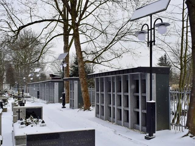 Tak wyglądają nowe kolumbaria na Cmentarzu Rakowickim