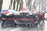 Pracownicy sądów dziś znów będą protestować na ulicach Łodzi! Będą utrudnienia w ruchu