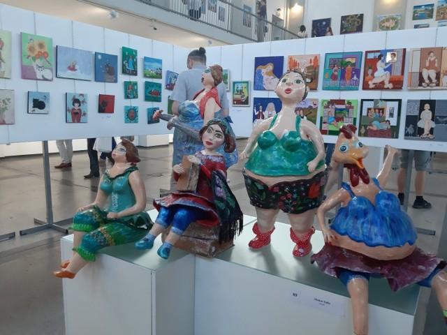 Ubiegłoroczna edycja Art Naif Festiwal w Szybie Wilson w Katowicach