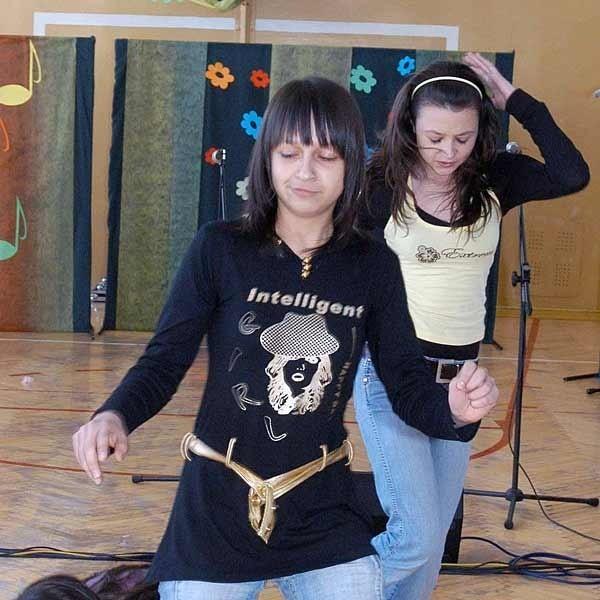 Solistki ze Szkoły Podstawowej w Uhercach