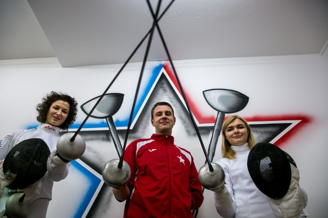 Takie trio tylko w reprezentacji Polski - Renata Knapik-Miazga, Bartłomiej Jezyk i Aleksandra Zamachowska