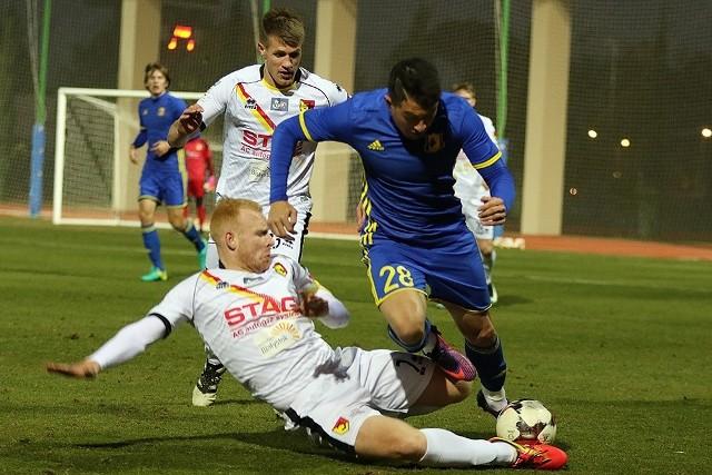 Ziggy Gordon w meczu kontrolnym z FK Rostów zadebiutował w barwach Jagiellonii.