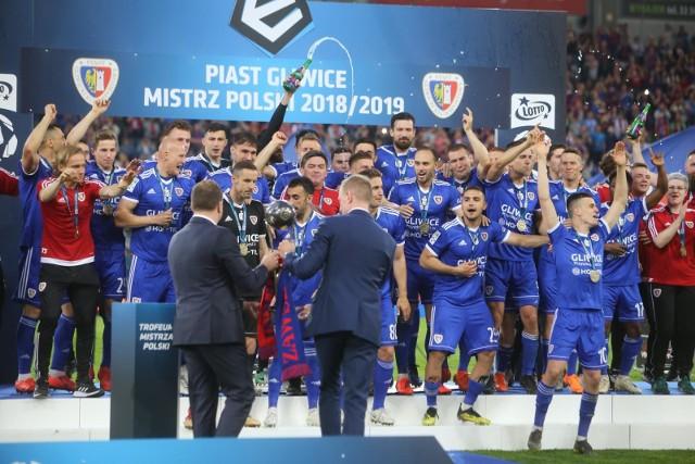 W sezonie 2018/19 mistrzem Polski został Piast Gliwice.