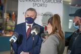 Wicepremier Piotr Gliński we Władysławowie. Odwiedził Centralny Ośrodek Sportu Cetniewo i Hallerówkę