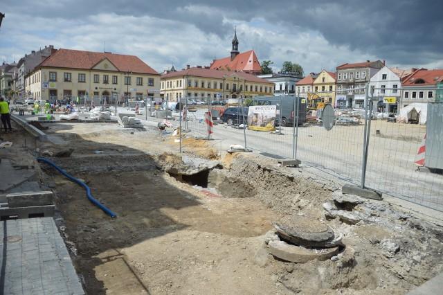 Rewitalizacja centrum Bochni to jedna z największych inwestycji 2019 roku, prace nadal trwają