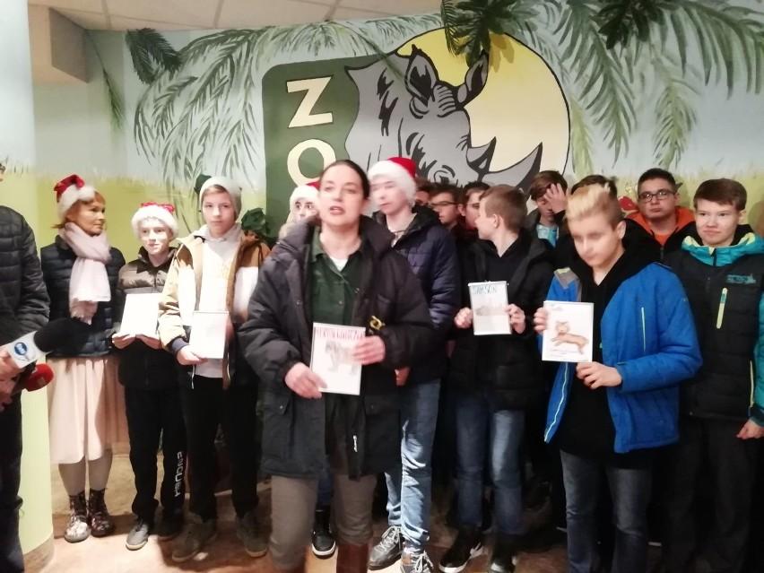 W czwartek, 21 listopada, dyrektorka ogrodu zoologicznego w...