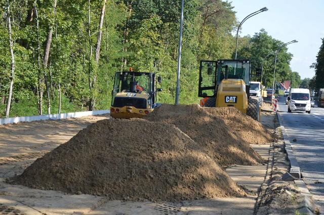 Budowa ścieżki przy ul. Poznańskiej w Zielonej Górze
